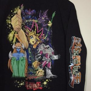 Vintage 1996 Yu-Gi-Oh Anime Long Sleeve T-Shirt